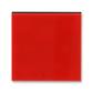 Kryt spínača kolískového, Levit®, červená / dymová čierna