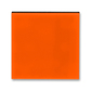 Kryt spínača kolískového, Levit®, oranžová / dymová čierna