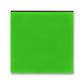 Kryt spínača kolískového, Levit®, zelená / dymová čierna