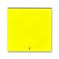 Kryt spínača kolískového s čírym priezorom, Levit®, žltá / dymová čierna