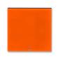 Kryt spínača kolískového s čírym priezorom, Levit®, oranžová / dymová čierna