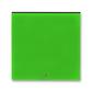 Kryt spínača kolískového s čírym priezorom, Levit®, zelená / dymová čierna