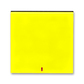 Kryt spínača kolískového s červeným priezorom, Levit®, žltá / dymová čierna