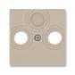 Kryt zásuvky anténnej, s vylamovacím otvorom, Levit®, macchiato