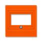Kryt zásuvky komunikačnej priamej, Levit®, oranžová