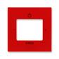 Kryt zosilňovača s tunerom FM alebo internetového rádia Busch-iNet, Levit®, červená