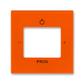 Kryt zosilňovača s tunerom FM alebo internetového rádia Busch-iNet, Levit®, oranžová