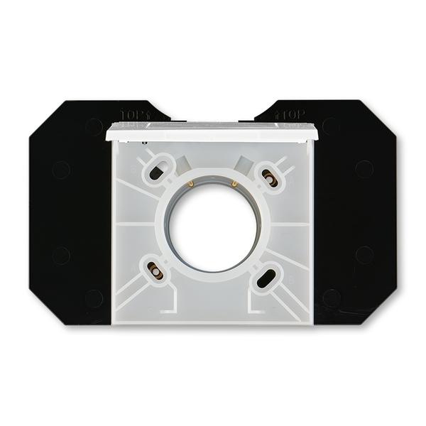 Zásuvka centrálneho vysávania, Levit®, biela / ľadová biela