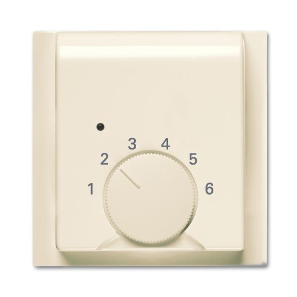 Kryt termostatu pre kúrenie/chladenie, Impuls, slonová kosť