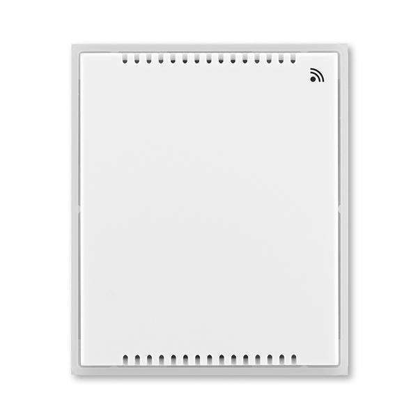 Vysielač vlhkosti, nástenný, Time®, Element®, biela / ľadová biela