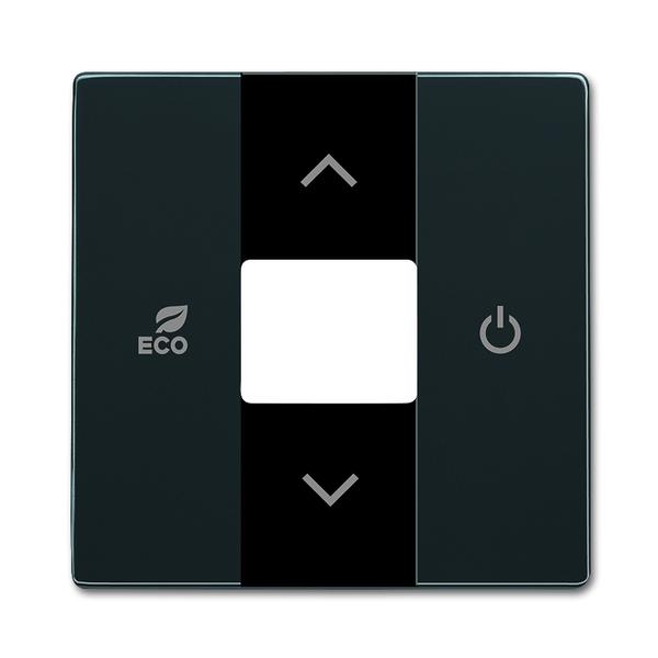 Kryt pre termostat priestorový, Future® linear, Solo®, Solo® carat, antracitová