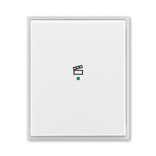 """Kryt 1 násobný, symbol """"scény"""", Time®, Element®, biela / ľadová biela"""