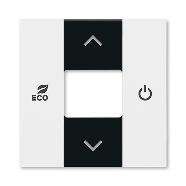 Kryt pre termostat priestorový, Levit®, biela