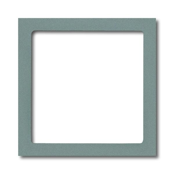 Kryt prístroja osvetlenia s LED, Solo®, Solo® carat, metalická šedá