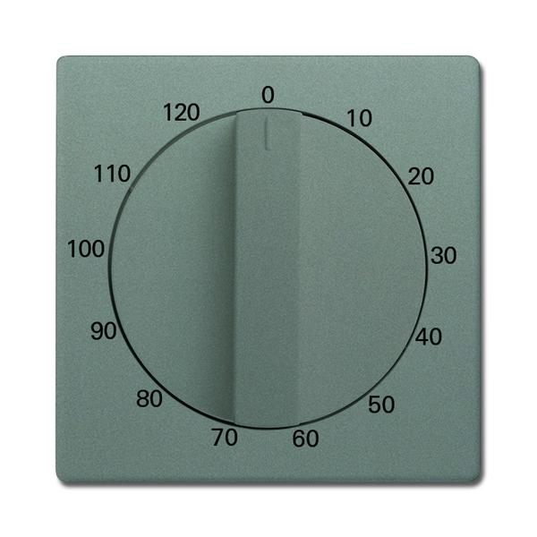 Kryt ovládača časového s otočným ovládačom, Solo®, Solo® carat, metalická šedá