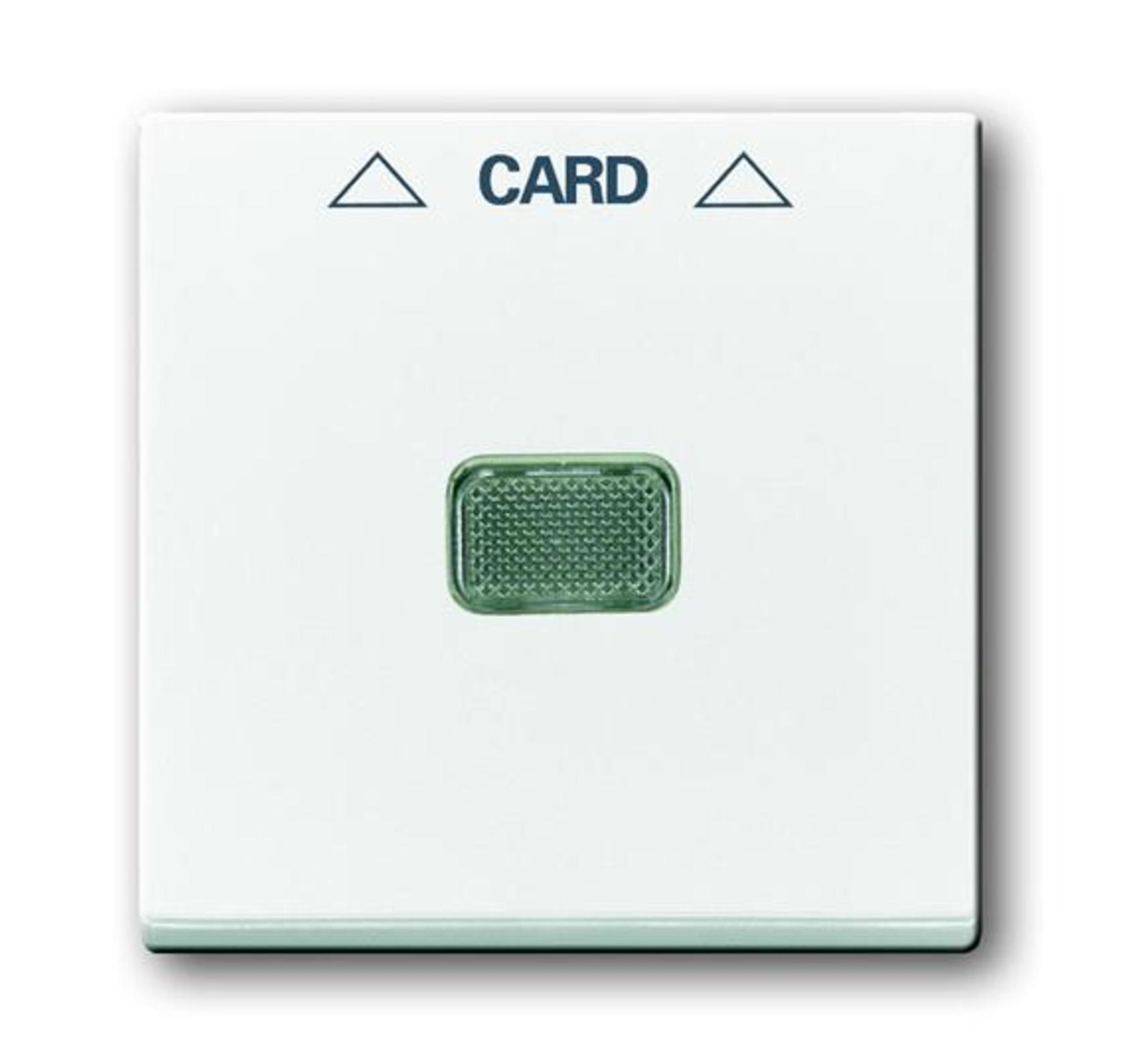 Kryt spínača kartového, biela