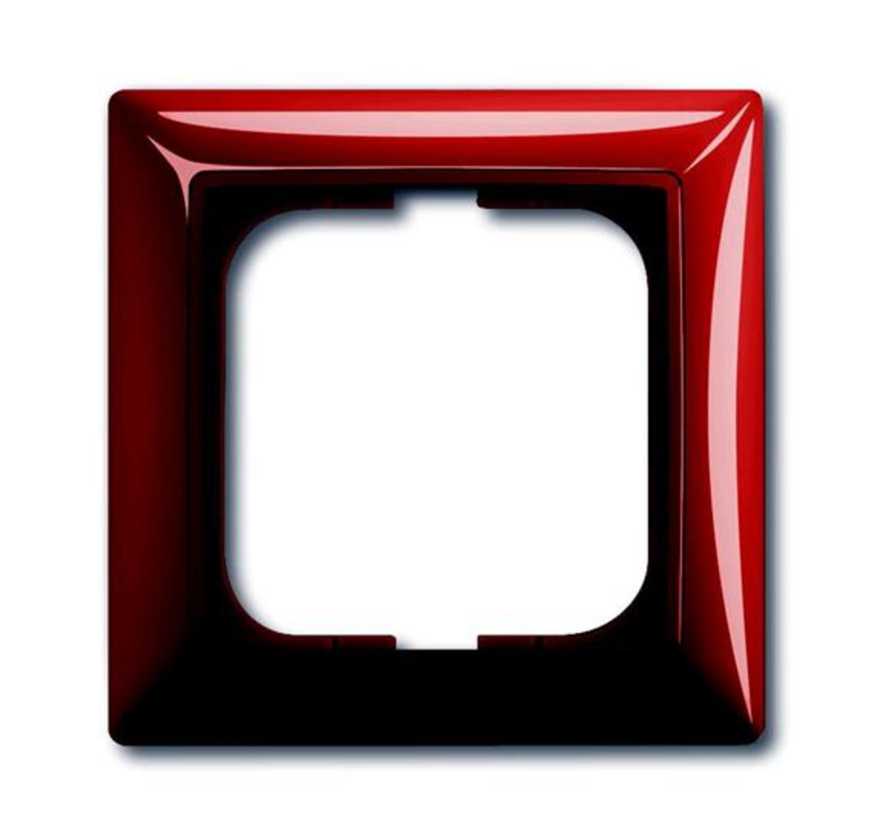 Rámček pre elektroinštalačné prístroje jednonásobný, škoricová