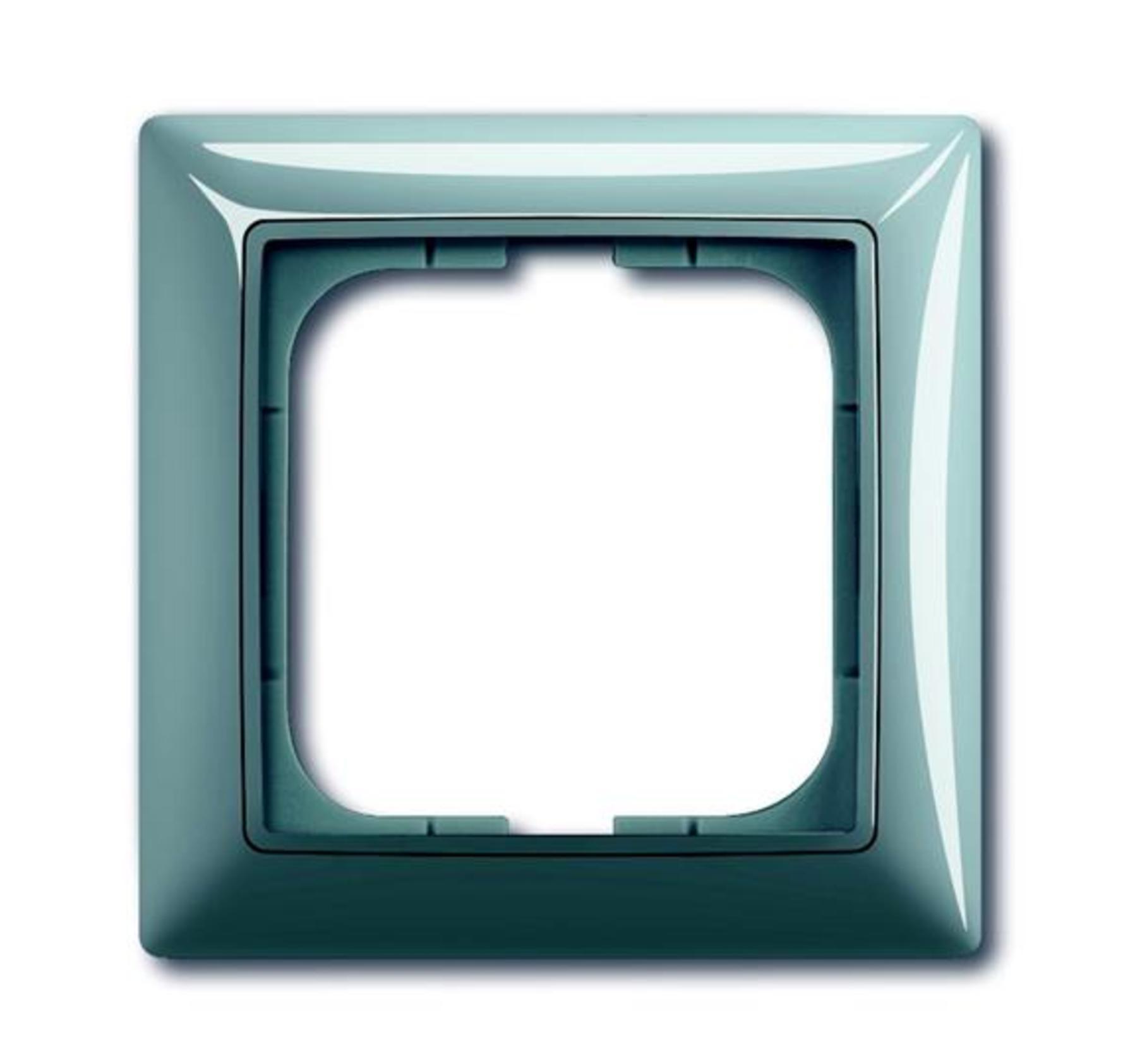 Rámček pre elektroinštalačné prístroje jednonásobný, svetlomodrá