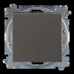 Prepínač striedavý 6, s krytom, grafitová šedá
