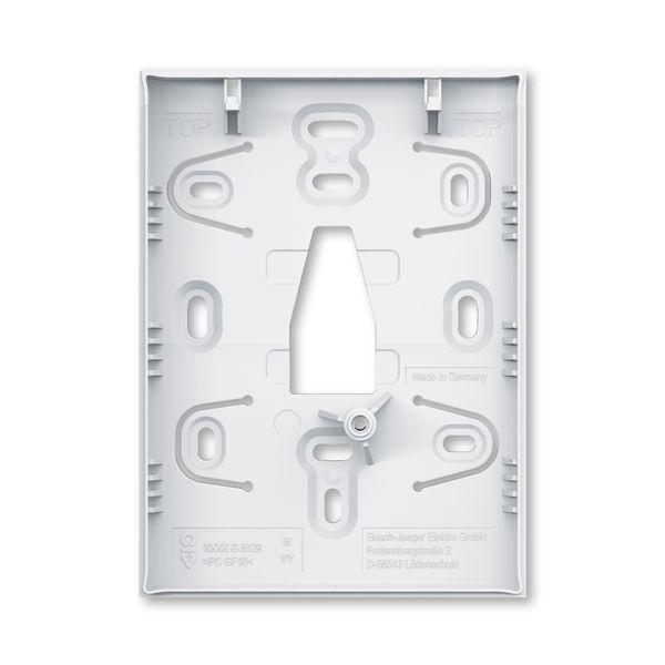 Základňa pre povrchovú montáž, pre 6-/8-násobné ovládacie prvky ABB-Tenton®, 6-/8násobné / štúdiová biela