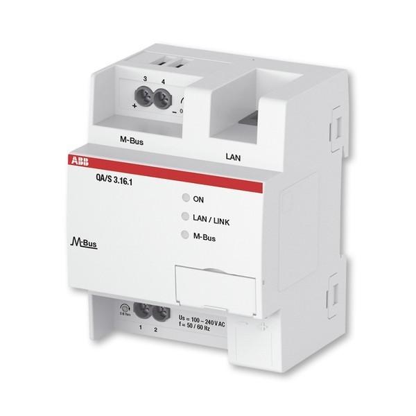 Energy Analyzer, M-Bus, 16-násobný, radový, M-Bus, 16 prístrojov