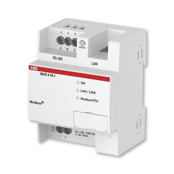 Energy Analyzer, Modbus, 16-násobný, radový, Modbus, 16 prístrojov