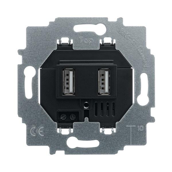 Prístroj nabíjací USB, šedá