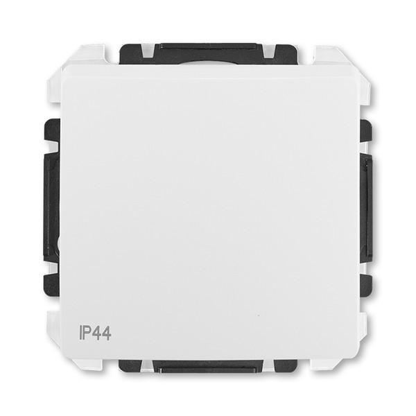 Prepínač striedavý IP 44, zapustený, jasně bílá