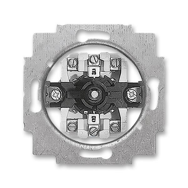 Prístroj ovládača žalúziového jednopólového otočného,
