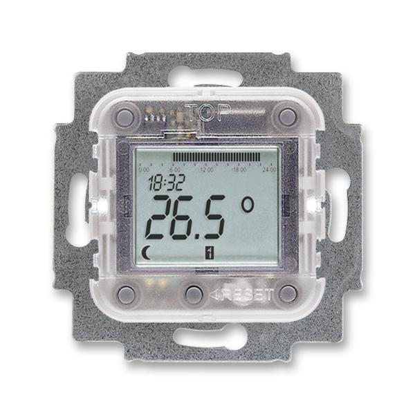 Prístroj termostatu pre podlahové vykurovanie s týždennými spínacími hodinami,
