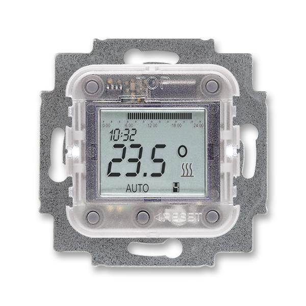 Prístroj termostatu priestorového s týždennými spínacími hodinami,