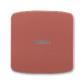 Kryt spínača kolískového s čírym priezorom, Tango®, vresová červená