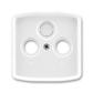 Kryt zásuvky anténnej, s vylamovacím otvorom, Tango®, biela