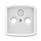 Kryt zásuvky anténnej, s vylamovacím otvorom, Tango®, šedá