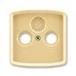 Kryt zásuvky anténnej, s vylamovacím otvorom, Tango®, béžová