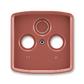 Kryt zásuvky anténnej, s vylamovacím otvorom, Tango®, vresová červená