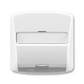 Kryt zásuvky ISDN s 1 otvorom, Tango®, šedá