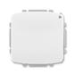 Spínač s krátkocestným ovládačom, s přijímačom rádiofrekvenčného (RF) signálu, Tango®, biela