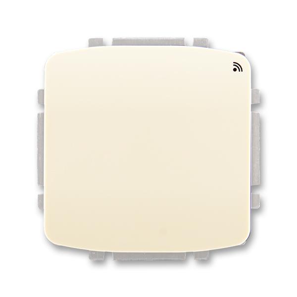 Spínač s krátkocestným ovládačom, s přijímačom rádiofrekvenčného (RF) signálu, Tango®, slonová kosť
