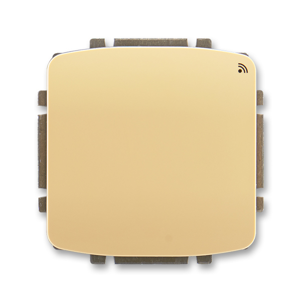 Spínač s krátkocestným ovládačom, s přijímačom rádiofrekvenčného (RF) signálu, Tango®, béžová