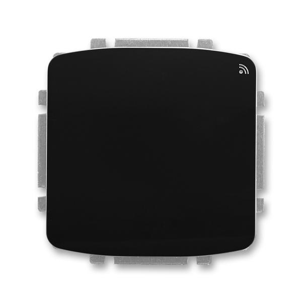 Spínač s krátkocestným ovládačom, s přijímačom rádiofrekvenčného (RF) signálu, Tango®, čierna