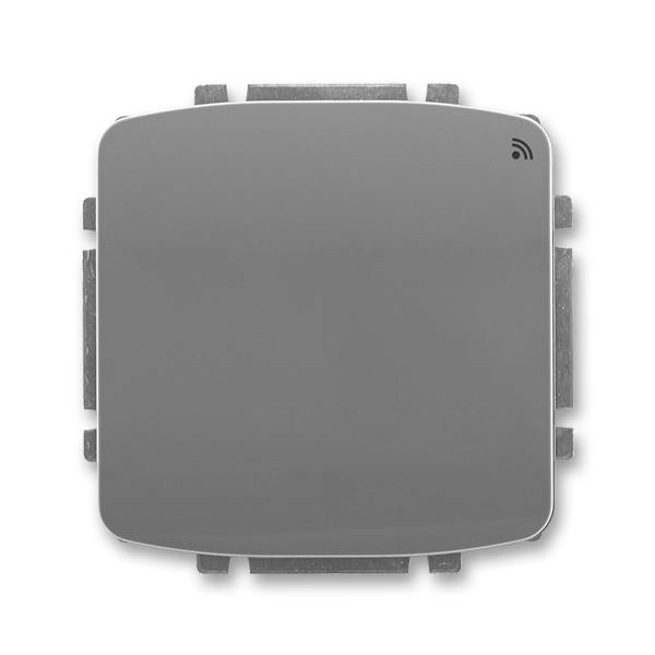 Spínač s krátkocestným ovládačom, s přijímačom rádiofrekvenčného (RF) signálu, Tango®, dymová šedá