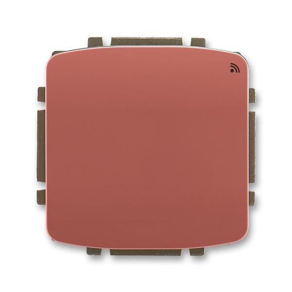 Spínač s krátkocestným ovládačom, s přijímačom rádiofrekvenčného (RF) signálu, Tango®, vresová červená