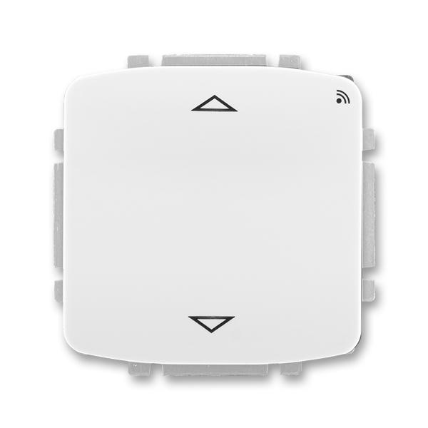 Spínač žalúziový s krátkocestným ovládačom, s prijímačom rádiofrekvenčného (RF) signálu, Tango®, biela