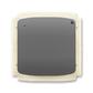 Vysielač rádiofrekvenčného (RF) signálu s krátkocestným ovládačom, nástenný, Tango®, dymová šedá