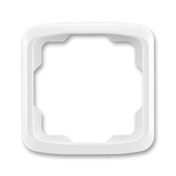 Rámček pre elektroinstalačné prístroje, jedno násobný, Tango®, biela