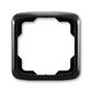Rámček pre elektroinstalačné prístroje, jedno násobný, Tango®, čierna