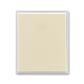 Kryt spínača kolískového, Element®, slonová kosť / ľadová biela