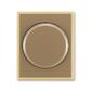 Kryt stmievača s otočným ovládačom, s upevňovacou maticou, Element®, kávová / ľadová opálová