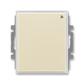 Spínač s krátkocestným ovládačom, s přijímačom rádiofrekvenčného (RF) signálu, Element®, slonová kosť / ľadová biela